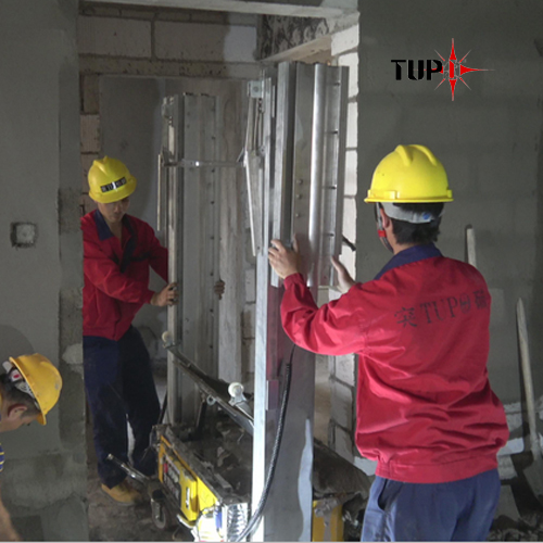 TUPO-8 Videos on Building Site